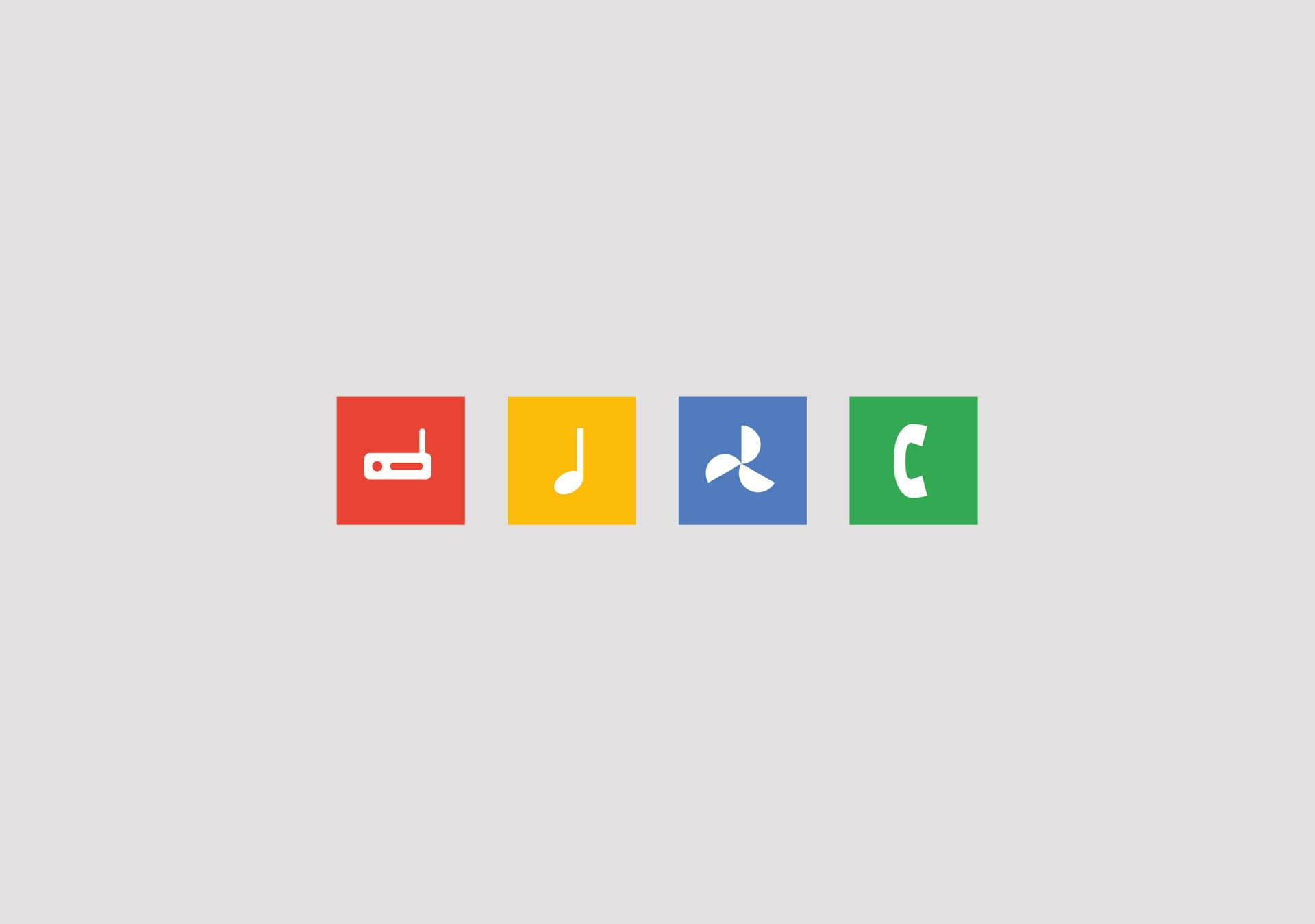 Screen Google – Start screen.