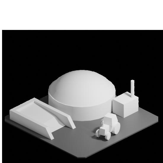 Asset - plant bio gas