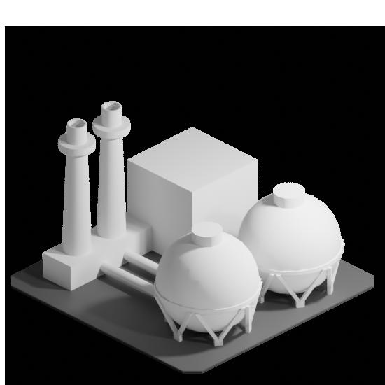 Asset - plant gas turbine