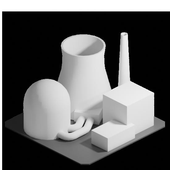 Asset - plant nuclear power