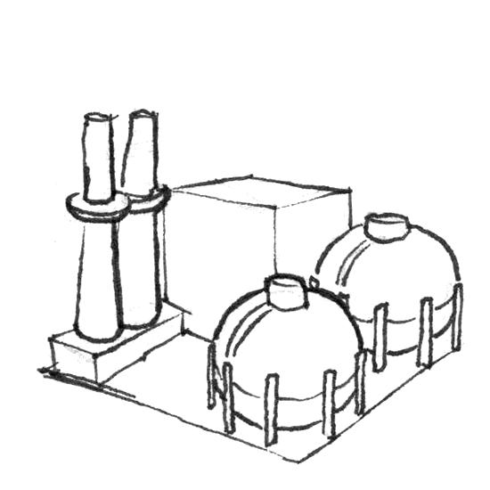 Asset Plant gas turbine